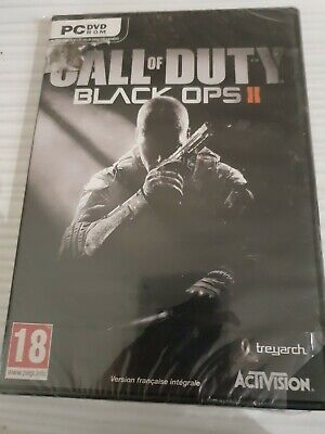 CALL OF DUTY BLACK OPS II 2 VERS FRANCAISE NEUF CELLO BRILLANT...