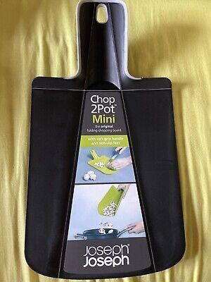 Joseph Joseph New Mini Chop 2 Pot Chopping Board Black RRP £10
