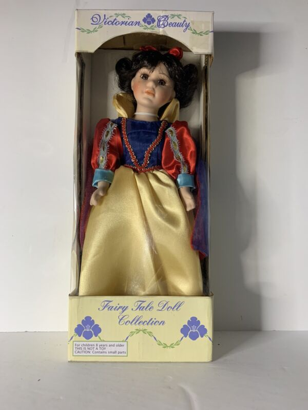 Victorian Beauty Fairy Tale Collection Porcelain Snow White Doll -(HARD TO FIND)
