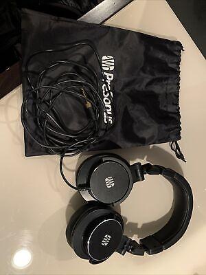 PreSonus HD9 Professional Over-Ear Studio Monitoring Headphones Used