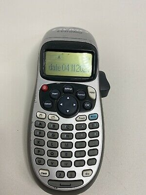 Dymo Letratag Handheld Portable Electronic Label Maker Machine