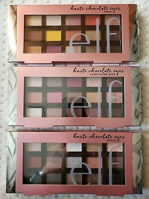 Elf Haute Chocolate Eyes Eyeshadow Palette 15 Shades,SUGAR SPICE EVERYTHING NICE