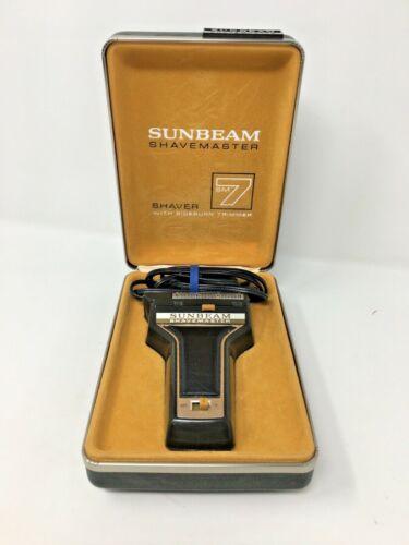 Sunbeam Shavemaster Shaver with Sideburn Trimmer SM7
