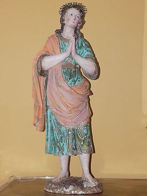 Spanish Colonial Santos Figure of Saint John the Evangelist