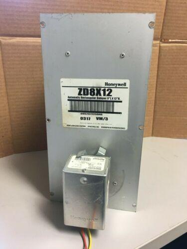 "Honeywell ZD8x12 - Automatic Rectangular Damper 8""Lx12""H"