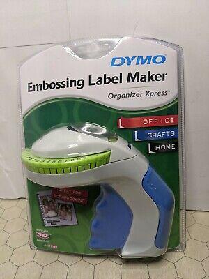 Dymo Embossing Label Maker Organizer Xpress 12965 Usa - New