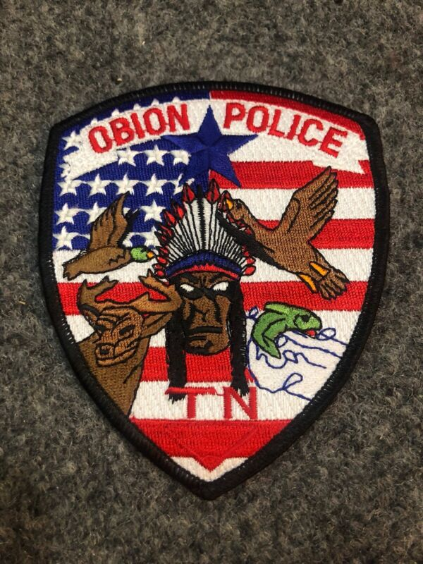 Obion Police patch Tennessee TN