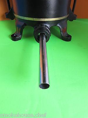 HEAVY DUTY Sausage stuffing tube funnel Enterprise Cast Iron Stuffer Lard Press