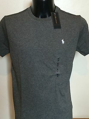 Mens Ralph Lauren Crew Neck T Shirt NWT Short Sleeve Small Pony S L M XL