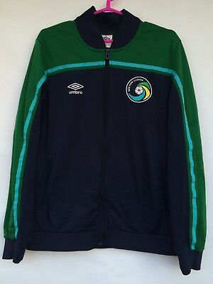 NEW YORK COSMOS 2012 2012 UMBRO FOOTBALL SOCCER SHIRT JACKET JERSEY USA MLS image