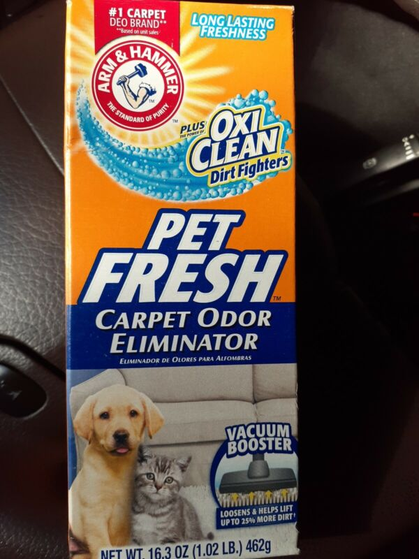 Oxiclean Pet Fresh Carpet Oder Eliminator