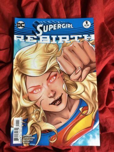 SUPERGIRL REBIRTH #1~1st PRINTING SOLD OUT~DC UNIVERSE SUPERMAN COMICS BOOK~C