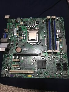 I7 870 with 4 gig ddr rams + motherboard