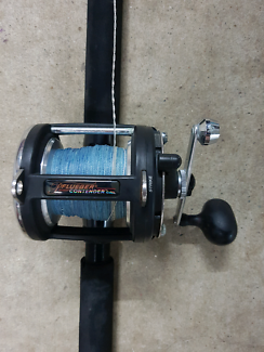 "Fishing Rod & Reel ""flueger contender "" combo"