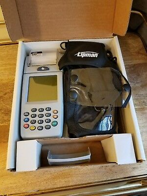 Verifone Nurit 8000 Wireless Credit Card Terminal Pre-owned.