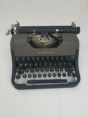 Antique Underwood Leader Portable Typewriter