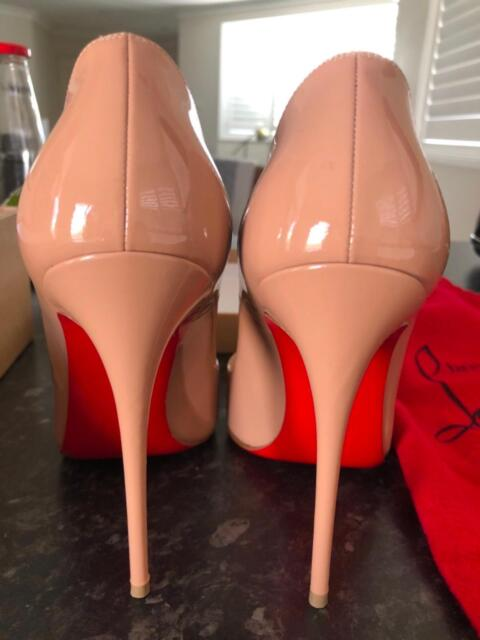 576f77df1f6c Christian Louboutin So Kate 120 nude pumps size 38.5
