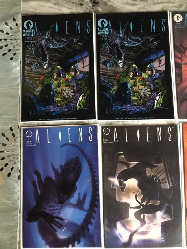 Aliens #1 Dark Horse Lot 1988