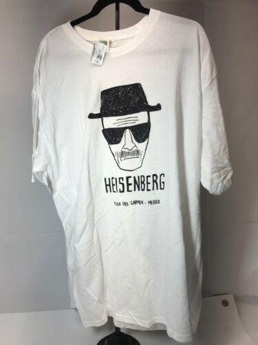 Cancun reef cozumal~tee shirt~Heisenberg Breaking bad~XXL~Mexico~White-2XL