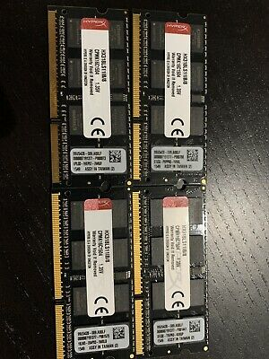 Hyper X Ram 32 Gb (4x 8gb) For Imac 5k 27inch (late 2015 Model)