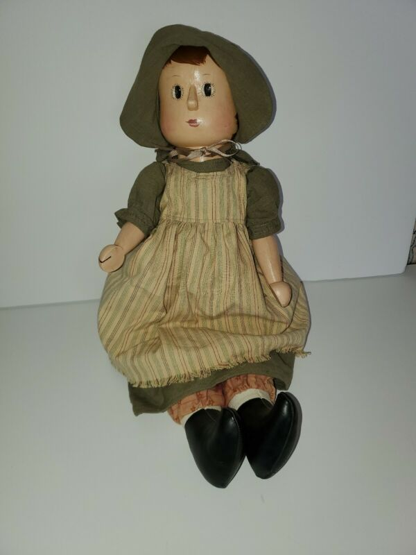 Penny Wooden Doll. 20 inches long