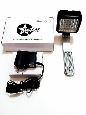 **Stellar Lighting Systems STL-36R Shoe Mount LED On Camera Video Light/Bracket
