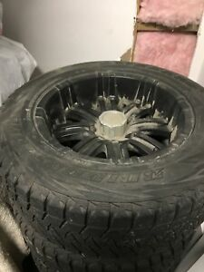 Bridgestone blizzak winter tires and rims