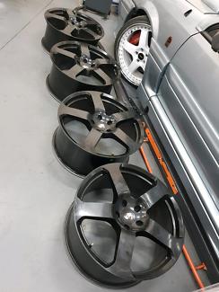 22 inch Porsche Cayenne wheels