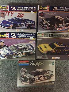 1:24 scale plastic NASCAR model kits