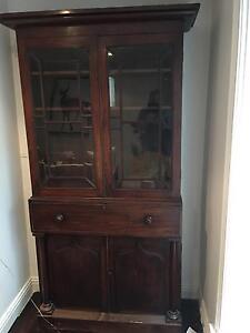Victorian Mahogany Secretaire Bookcase Brighton Bayside Area Preview