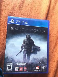 Middle Earth: Shadow OF Mordor (game of the year edition) PS4