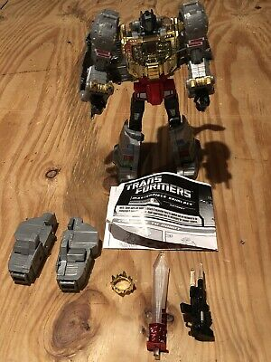 Transformers Masterpiece Grimlock 2010 Hasbro Toys R Us Complete Working W/Extra
