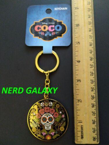 DISNEY Pixar Coco Sugar Skull Enamel Keychain NEW! LICENSED! LOUNGEFLY!