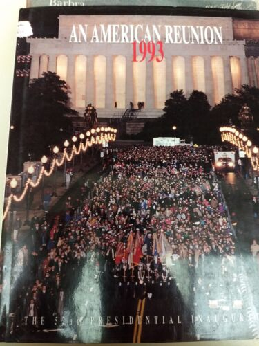 BARBRA STREISAND AN AMERICAN REUNION CLINTON POLITICAL 1993