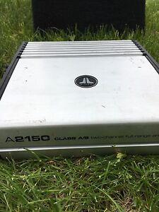 Two channel full range car amplifier
