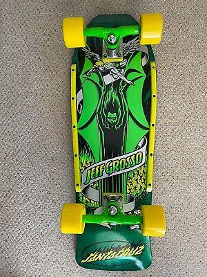Santa Cruz Jeff Grosso Demon Green Yellow Deck Custom COMPLETE Skateboard