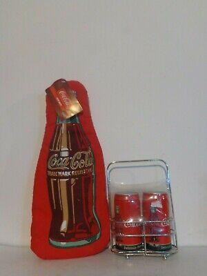 Coca Cola Kitchen, Oven Mitt Coca Cola, Coca Cola Salt and Pepper Shakers, NEW C