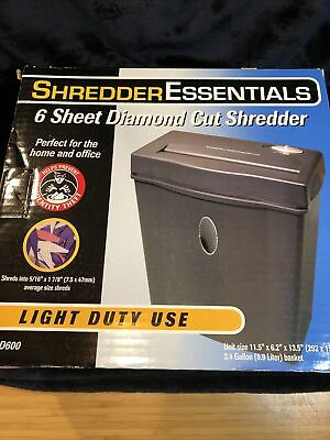 Shredder Essentials 15-sheet Cross-cut Shredder Ses--d600