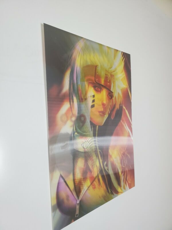 Changing 3D Art Naruto And Hinata Forever lenticular
