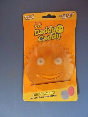Scrub Daddy Daddy Caddy Smiley Face Sponge Holder With Suction Cups # DCDDY12CT