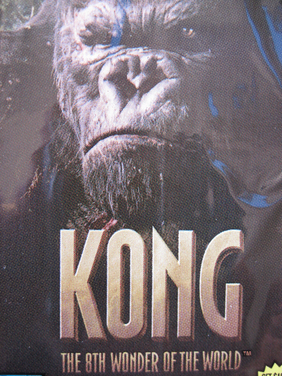 Prince KONG 80 CARDS TOPPS SET THE 8TH WONDER of the WORLD 2005 Movie Naomi Watts