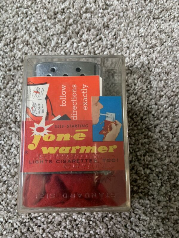 new old stock jon-e warmer standard size with case and paperwork