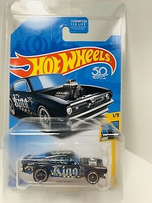 2011 Hot Wheels Super Treasure Hunt Mustang Funny Car W/ Protecto