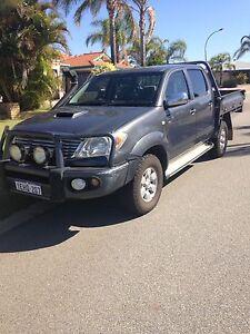 Toyota Hilux 2008 SR5 turbo diesel 4x4 dual cab ute Baldivis Rockingham Area Preview