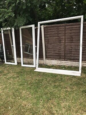 used white upvc patio doors Circa 2m X 1.7m