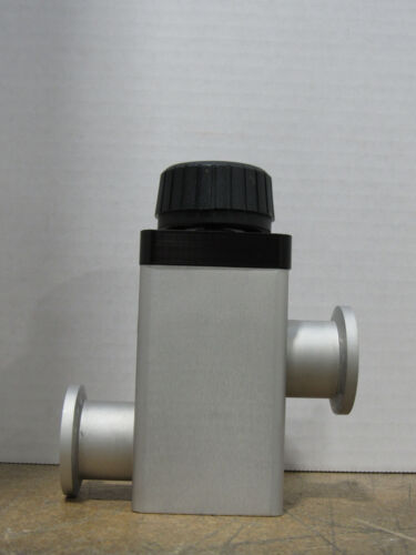 Varian Vacuum Products Model L9180-302 Manual Isolation Valve M/N NW-25-H/O