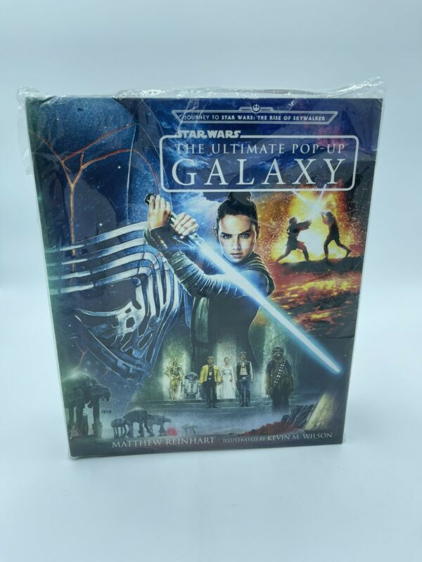 Star Wars Hardcover Book: The Ultimate Pop-Up Galaxy