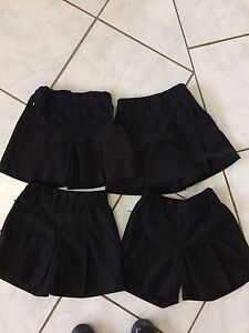 Black school skorts, all girls size 6 Fletcher Newcastle Area Preview