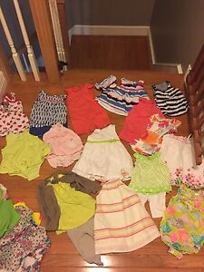 Bulk baby summer clothes 9-12months