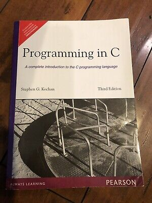Programming in C  3rd Edition